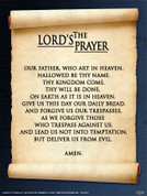 The Lord's Prayer Wall Graphic