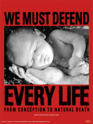 Defend Life Wall Graphic