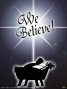 We Believe Wall Graphic