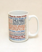 Pope Saint John XXIII Quote Mug