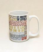 Saint Ignatius of Loyola Quote Mug