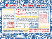 Blessed Mother Teresa Quote Wall Graphic