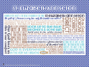 Saint Elizabeth Ann Seton Quote Wall Graphic