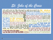 Saint John of the Cross Quote Wall Graphic