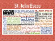 Saint John Bosco Quote Wall Graphic
