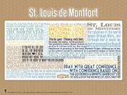 Saint Louis de Montfort Quote Poster