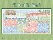 Saint Basil the Great Quote Poster