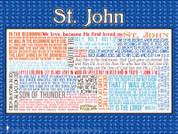 Saint John the Evangelist Quote Poster