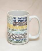 Saint Anthony of Padua Quote Mug