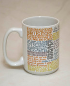 Saint Frances Xavier Cabrini Quote Mug