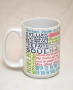 Saint Lucy Quote Mug