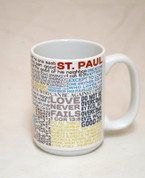 Saint Paul Quote Mug