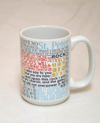 Saint Peter Quote Mug