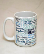 Titles of Mary Quote Mug