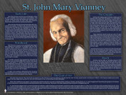 Saint John Mary Vianney Explained Poster