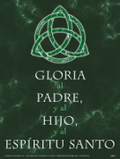Spanish Trinity Glory Be Poster