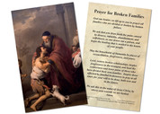 Prayer for Broken Families Holy Card
