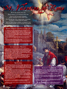 St. Valentine of Rome Explained Poster (POS-F1627)