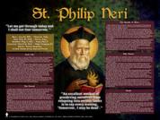 St. Philip Neri Explained Poster (POS-F449)