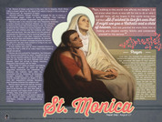 Saint Monica Explained Poster