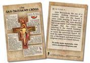 San Damiano Cross Faith Explained Card