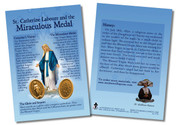 St. Catherine Laboure and the Miraculous Medal Faith Explained Card