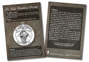 St. Jude Thaddeus Medal Faith Explained Card