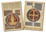 Saint Benedict Medal Faith Explained Card