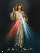 Spanish Divine Mercy Wall Graphic