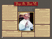 Pope Saint Paul VI Explained Poster