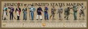History of the United States Marine Print