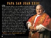 Spanish St. John XXIII Graphic Poster