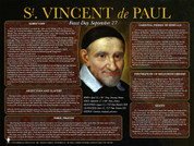 St. Vincent de Paul Explained Poster