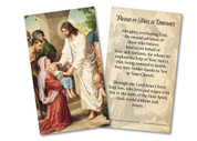 Prayer in Times of Epidemics Holy Card