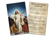 """Spanish """"Prayer for Healing and Guidance"""" Holy Card"""