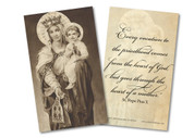 Mother of the Clergy Holy Card