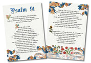 Psalm 91 4x6 Prayer Card