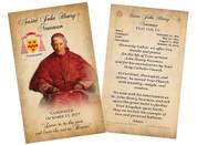 St. John Henry Newman Canonization Holy Card