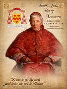 St. John Henry Newman Commemorative Poster
