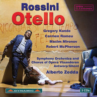 ROSSINI KUNDE SYMPHONY ORCHESTRA & CHORUS OF - OTELLO CD
