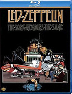 LED ZEPPELIN SONG REMAINS THE SAME (UK) BLU-RAY
