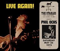 PHIL OCHS - LIVE AGAIN CD