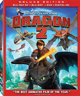 HOW TO TRAIN YOUR DRAGON 2 - HOW TO TRAIN YOUR DRAGON 2 (W /) BLU-RAY