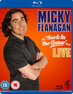 MICKY FLANAGAN BACK IN THE GAME (UK) BLU-RAY