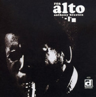 ANTHONY BRAXTON - FOR ALTO CD
