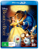BEAUTY AND THE BEAST (3D BLU-RAY) (RE-RELEASE) (1991) BLURAY