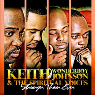KEITH WONDERBOY JOHNSON - STRONGER THAN EVER CD