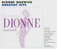 DIONNE WARWICK - VERY BEST OF DIONNE WARWICK CD
