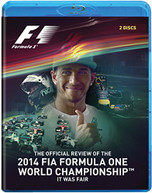 FORMULA ONE 2014 REVIEW BLU-RAY