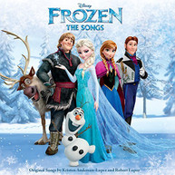 FROZEN: THE SONGS VARIOUS CD